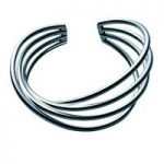 Georg Jensen Bangle Alliance Large Twist