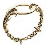 Shaun Leane Bracelet Enameled Claw Bracelet Gold Plated