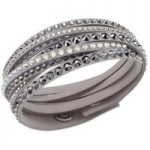 Swarovski Bracelet Slake Deluxe Grey Synthetic
