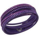 Swarovski Bracelet Slake Purple Synthetic
