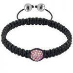 Tresor Paris Bracelet 10mm Blush Pink Crystal S