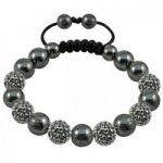 Tresor Paris Bracelet 10mm Gold Crystal S