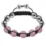 Tresor Paris Bracelet 8mm Blush Pink S