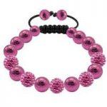 Tresor Paris Bracelet 8mm Pink S