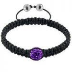 Tresor Paris Bracelet Purple Crystal S