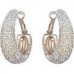 Swarovski Earrings Abstract Hoop