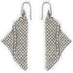 Swarovski Earrings Fit Silver Shade Pierced