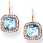 Thomas Sabo Earrings Glam & Soul Blue Spinel Rose Gold