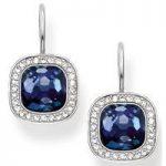 Thomas Sabo Earrings Glam & Soul Blue Synthetic Corundum Silver
