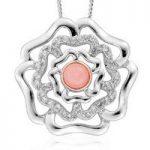 Clogau Pendant Tudor Rose Silver