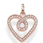 Thomas Sabo Pendant Glam & Soul Eternity of Love Rose Gold