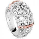 Clogau Ring Am Byth Silver L