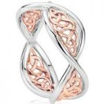 Clogau Ring Welsh Royalty Silver