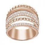 Swarovski Ring Click Rose Gold