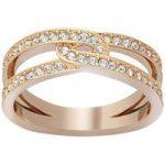 Swarovski Ring Creativity Clear Crystal Pave Rose Gold