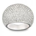 Swarovski Ring Stone Rhodium