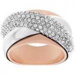 Swarovski Ring Wave Silver