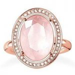 Thomas Sabo Ring Glam & Soul Maharani Rose Quartz Rose Gold D