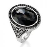Thomas Sabo Ring Glam & Soul So Black Onyx Silver