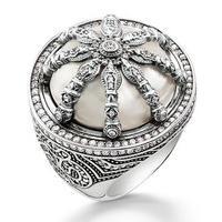 7369ecb63f2 Thomas Sabo Karma Beads Wheel of Karma Silver Ring. TR2025-642-14-56 The Thomas  Sabo Karma Bead Collection gives you the power to pick your favourite Thomas  ...