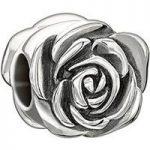 Chamilia Charm Chamilia June Rose Silver