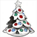 Chamilia Charm Christmas Tree Silver