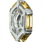 Chamilia Charm Colorado Topaz Hexagonal Wheel Silver