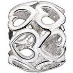 Chamilia Charm Delicate Hearts Silver