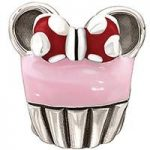 Chamilia Charm Disney Minnie Cupcake Silver
