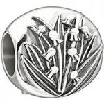 Chamilia Charm Garden Club May Lily Of The Valley Silver