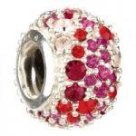 Chamilia Charm Jewelled Kaleidoscope Red D