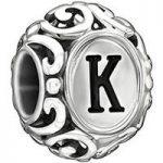 Chamilia Charm Letter K Silver
