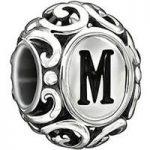 Chamilia Charm Letter M Silver