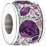 Chamilia Charm Mosaic Purple Swarovski