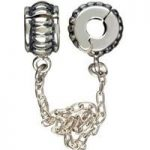Chamilia Charm Safety Chain Lock Silver