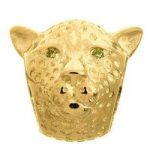 Endless Jewellery Charm Leopard Yellow Gold