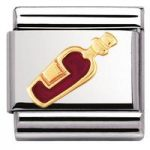 Nomination Charm Composable Classic Drinks Red Wine Steel
