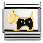 Nomination Charm Composable Classic Earth Animals 1 Cane Terrier Steel