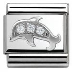 Nomination Charm Composable Classic Symbols Dolphin Steel