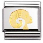 Nomination Charm Composable Classic Zodiac Aries Steel
