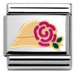 Nomination Charm Composable Madame & Monsieur Link Madame Hat Steel