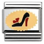 Nomination Charm Composable Madame & Monsieur Link Madame Shoes Steel