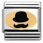 Nomination Charm Composable Madame & Monsieur Link Monsieur Steel