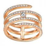 Swarovski Ring Creativity Rose Gold Plated
