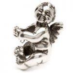 Trollbeads Bead Cherub Silver