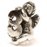 Trollbeads Bead Cherub/3 Silver