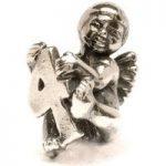 Trollbeads Bead Cherub/4 Silver