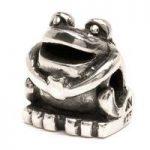 Trollbeads Bead Frog Silver