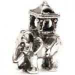 Trollbeads Bead Indian Elephant Silver