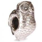 Trollbeads Bead Owl Silver